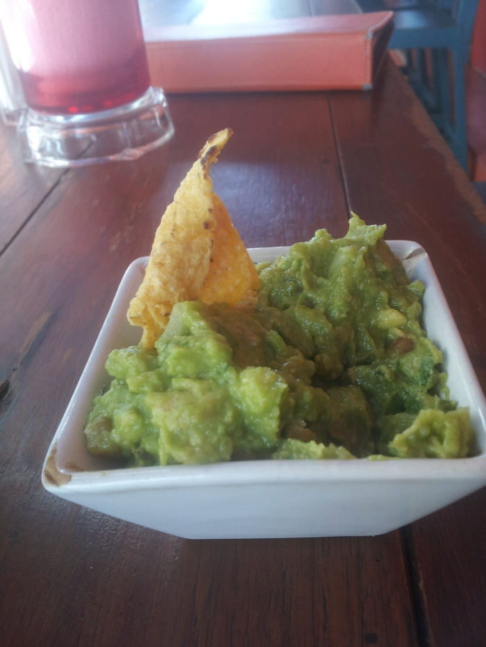 Chips and Guacamole at La Monita