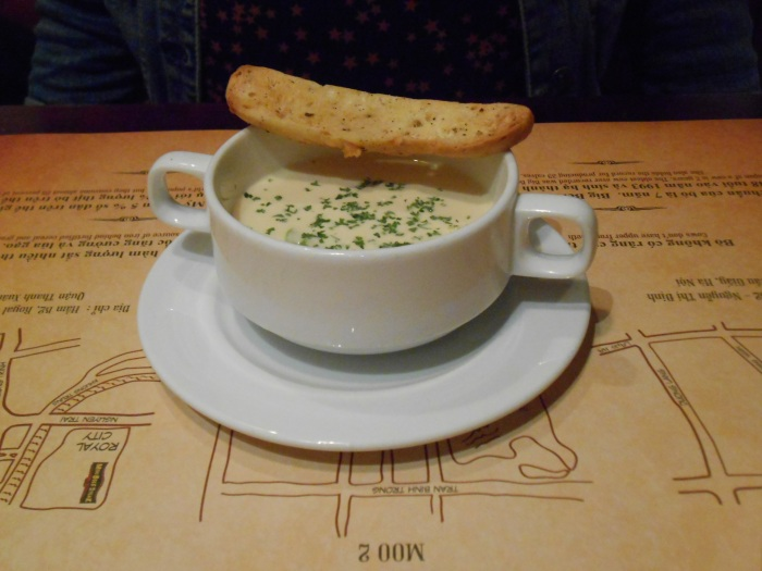 Hang's cream of asparagus soup
