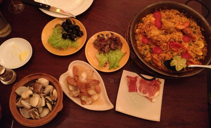 Tapas, Tapas, and More Paella