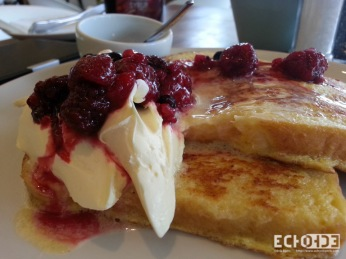 OK this one may be from Vovo Telo but Tasha's has the same french toast at breakfast